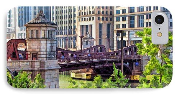 Franklin Street Bridge IPhone Case by Christopher Arndt