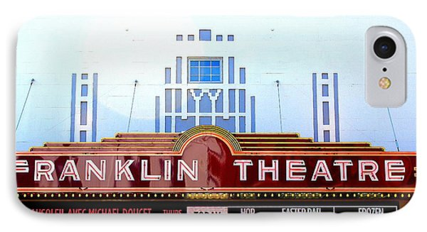 Franklin Theatre Phone Case by Anthony Jones
