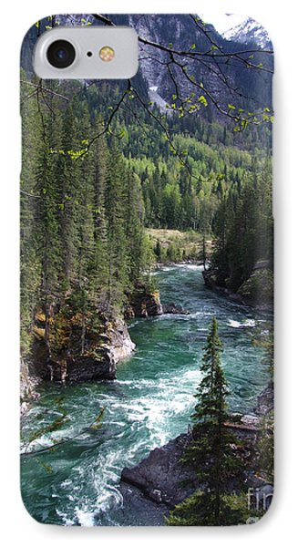 Fraser River - British Columbia IPhone Case by Phil Banks