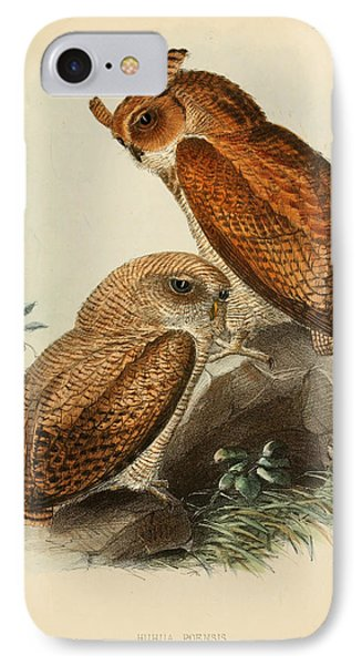 Fraser's Eagle Owl IPhone Case