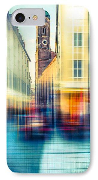 Frauenkirche - Munich V - Vintage Phone Case by Hannes Cmarits