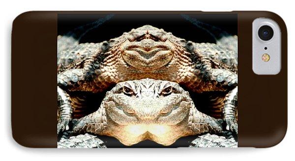 Love Them Freaky Florida Gators IPhone Case by Belinda Lee