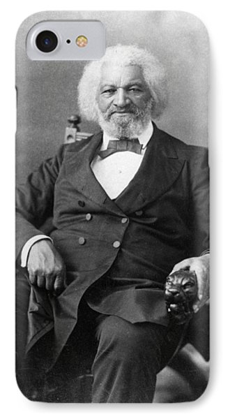 Frederick Douglass(c1817-1895) IPhone Case by Granger