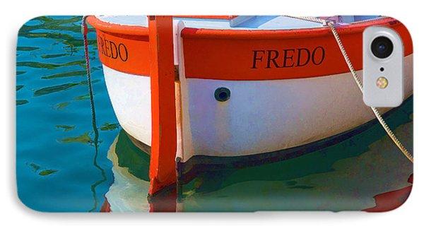 Fredo IPhone Case by Joan Herwig