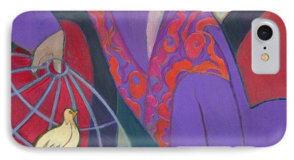 Free As A Bird, 2003-04 IPhone Case by Jeanette Lassen