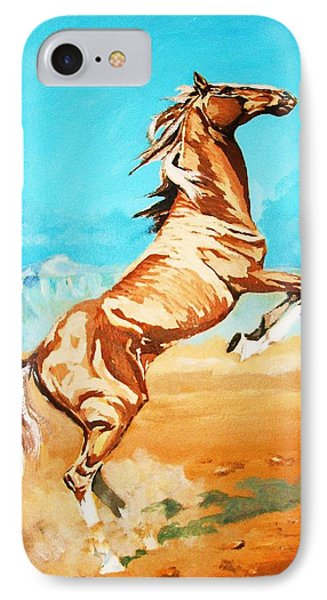 IPhone Case featuring the painting Free Spirit by Al Brown