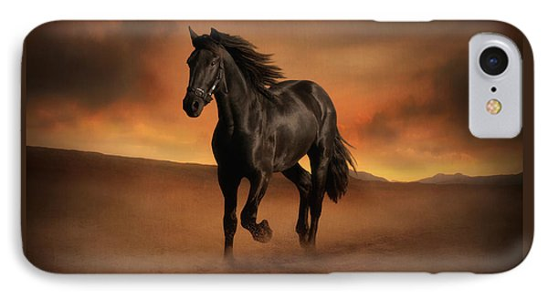 Freedom In The Desert IPhone Case by Jennifer Woodward