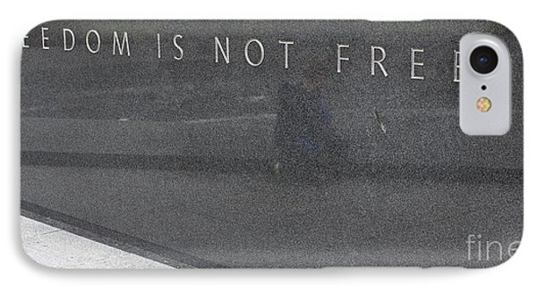 Freedom Is Not Free IPhone Case by Steven Ralser