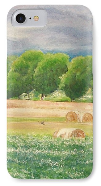 IPhone Case featuring the painting Freedom by Jane  See