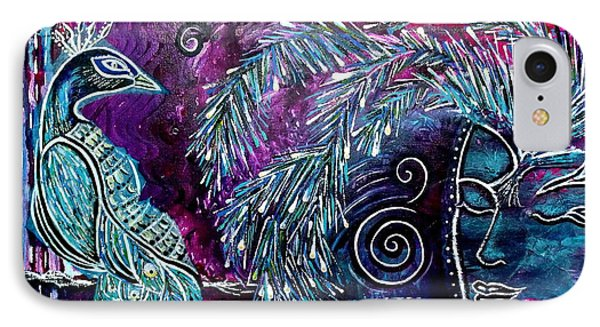 IPhone Case featuring the painting Freedom by Julie  Hoyle