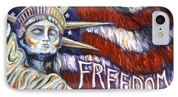 Freedom Phone Case by Linda Mears