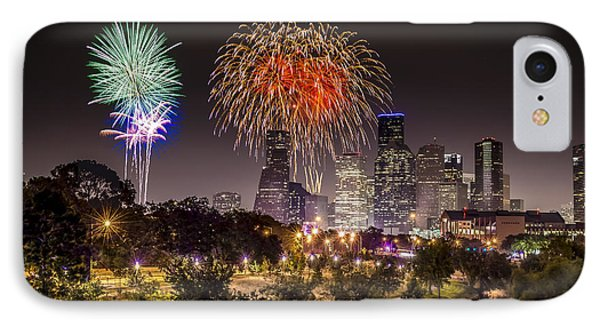 Freedom Over Texas IPhone Case by David Morefield