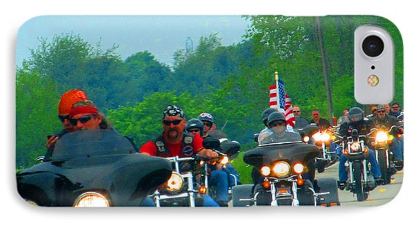 Freedom Riders Having So Much Fun Phone Case by Tina M Wenger