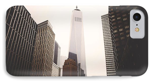 Freedom Tower  IPhone Case by Amber Fite