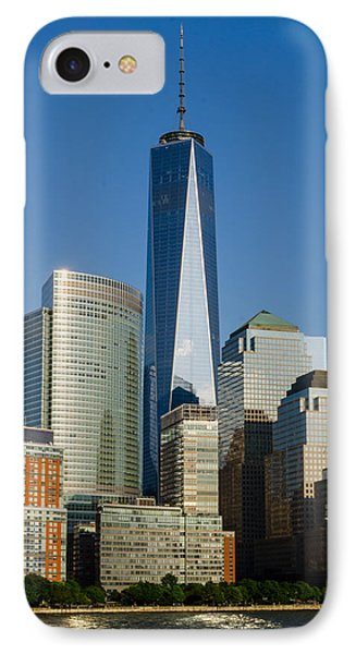 Freedom Tower IPhone Case by Frank Mari