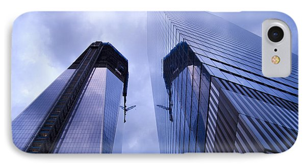 Freedom Tower Ground Zero New York City Phone Case by Sabine Jacobs