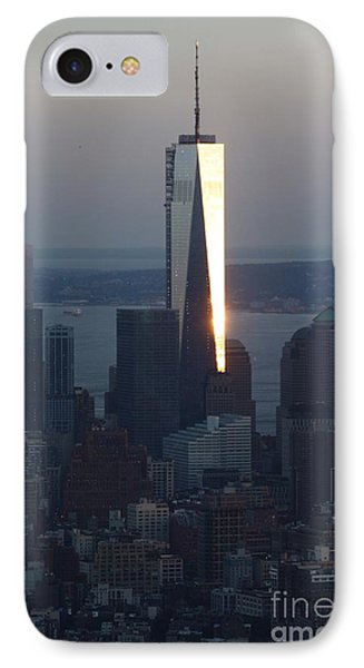 Freedom Tower Phone Case by John Telfer