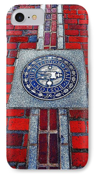 Freedom Trail Phone Case by Benjamin Yeager