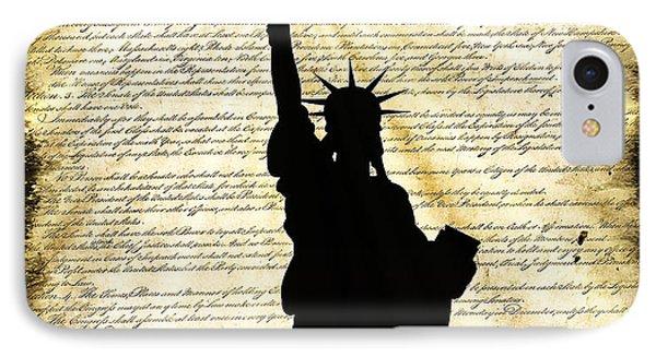 Freedoms Light Phone Case by Daniel Hagerman
