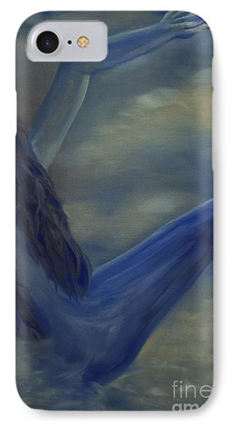 IPhone Case featuring the painting Freefall by Stuart Engel