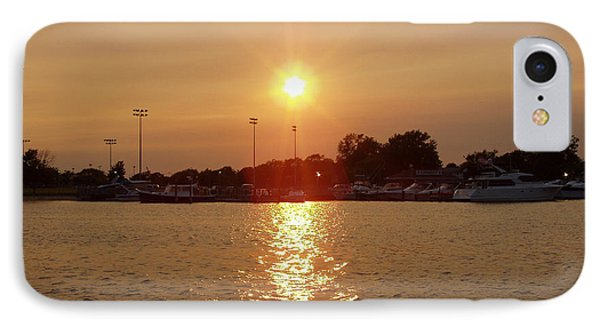 IPhone Case featuring the photograph Freeport Summer Sunset by John Telfer
