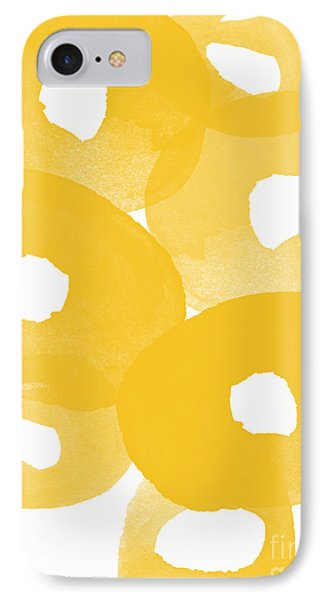 Freesia Splash IPhone Case by Linda Woods