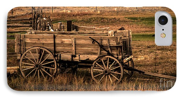 Freight Wagon Phone Case by Robert Bales