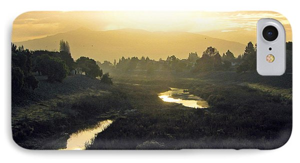 IPhone Case featuring the photograph Fremont Dawn by Ellen Cotton