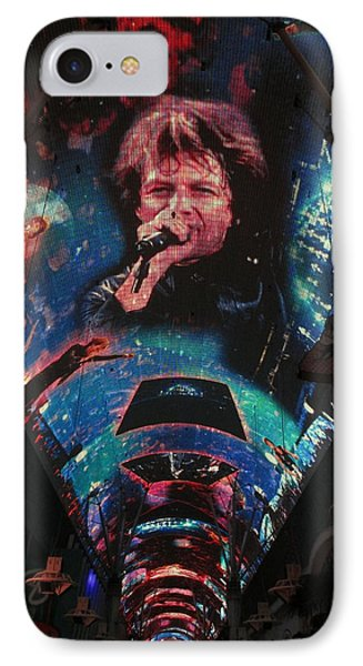 Fremont Street Experience IPhone Case by Kay Novy