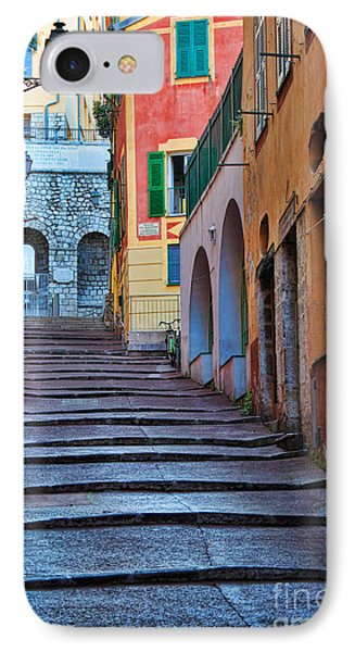 French Alley IPhone Case by Inge Johnsson