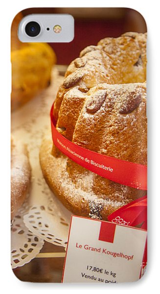 French - Alsace Pastry Phone Case by Brian Jannsen