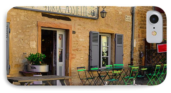 IPhone Case featuring the photograph French Auberge by Dany Lison