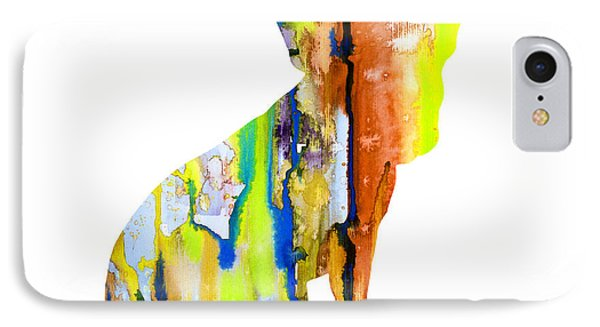 French Bulldog 8 IPhone Case by Watercolor Girl