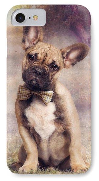 French Bulldog Phone Case by Cindy Grundsten