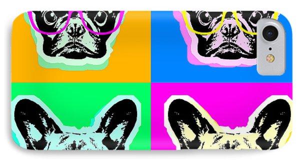 French Bulldog Pop Art IPhone Case