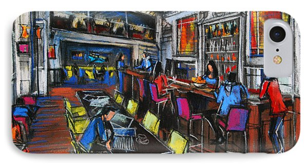 French Cafe Interior IPhone Case