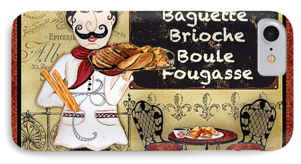 French Chef-a IPhone Case by Jean Plout