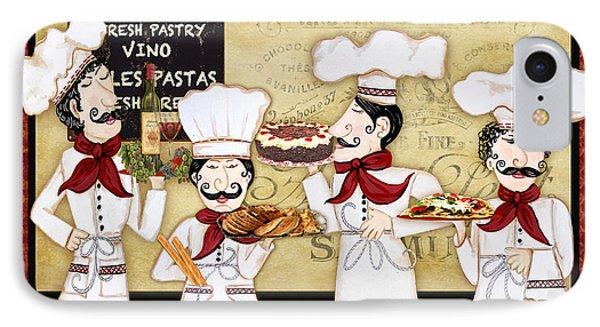 French Chefs-bon Appetit IPhone Case