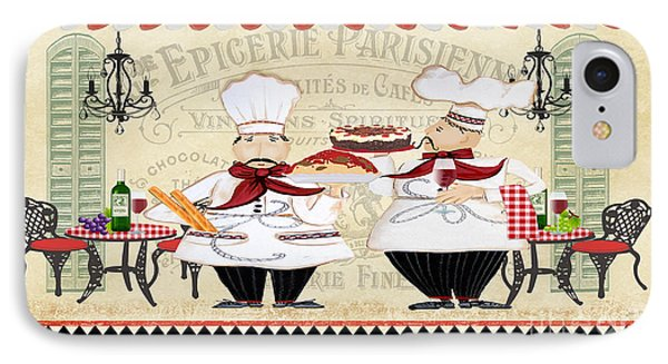 French Chefs-jp2250b IPhone Case