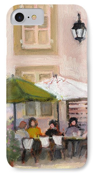 French Country Cafe IPhone Case by J Reifsnyder