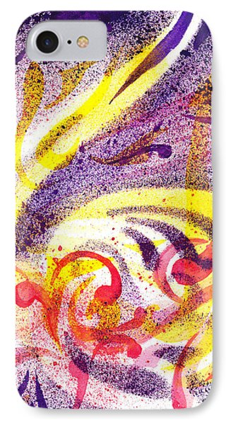 French Curve Abstract Movement I IPhone Case