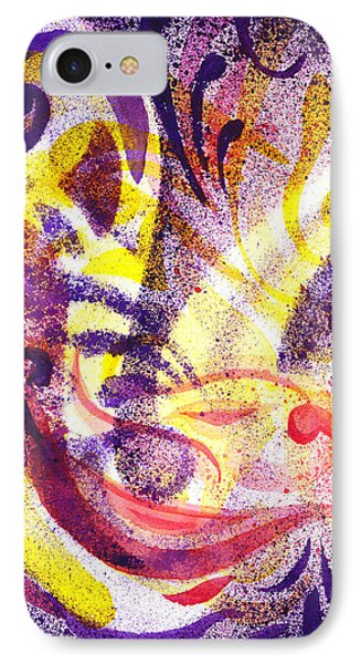 French Curve Abstract Movement II IPhone Case