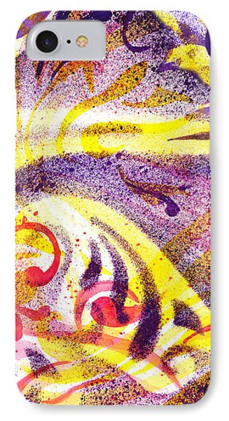 French Curve Abstract Movement Iv IPhone Case