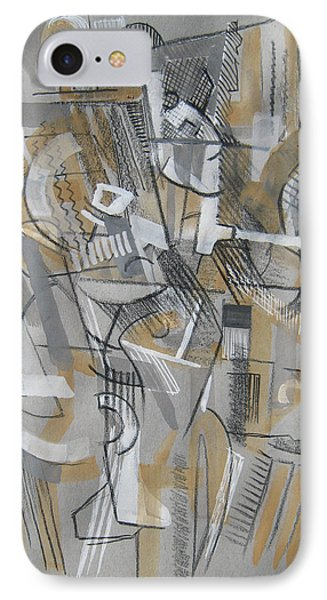 French Curves 1 IPhone Case by Clyde Semler