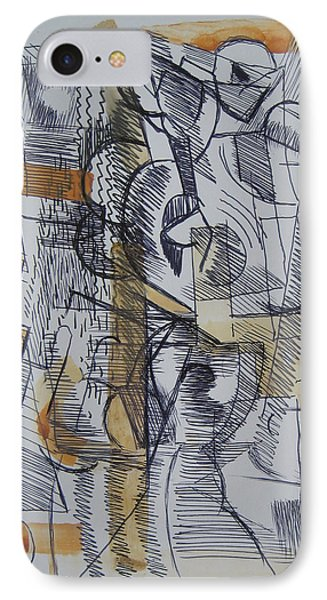 French Curves 2 IPhone Case by Clyde Semler