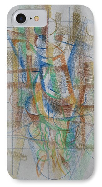 IPhone Case featuring the digital art French Curves 3 by Clyde Semler