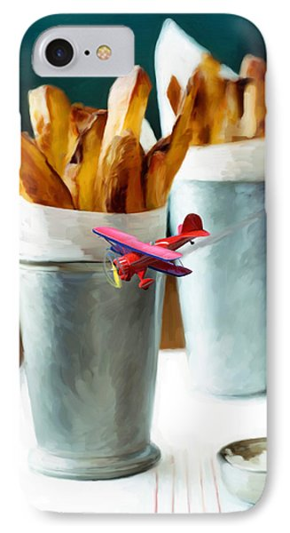French Fries Fly-by Phone Case by Snake Jagger