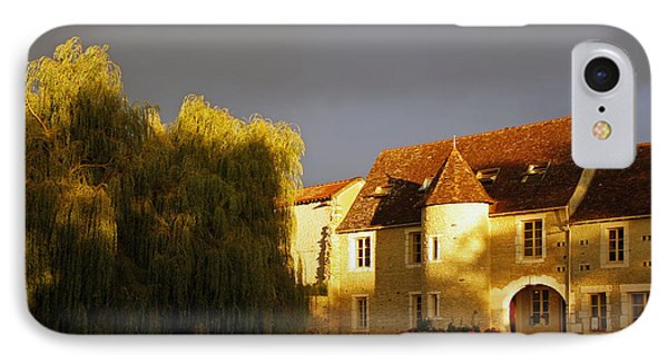 French House At Sunset IPhone Case