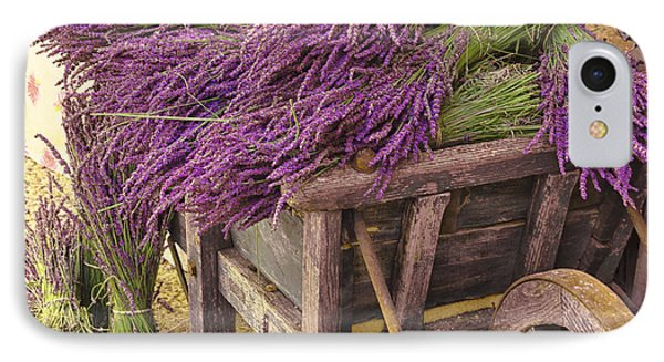 French Lavender Cart IPhone Case