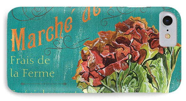 French Market Sign 3 IPhone 7 Case by Debbie DeWitt